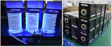 LED neon flex project packing