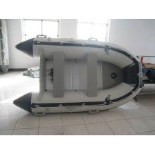 OEM barco inflável com piso de alumínio