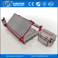 380Mpa Glas Material Wasserstrahl Schneidemaschine mit Lade-System