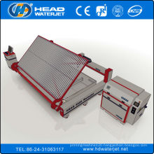 380Mpa glass material waterjet cutting machine with Loading system