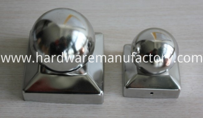 Stainless Steel Ball Fence Post Cap