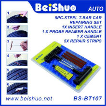6PCS Repair Plug Kit Tire Tubeless Tire Patch Fix Tools Puncture Repair