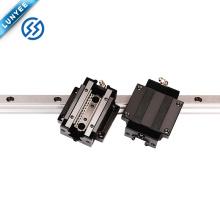 Miniatura de guia Linear HSR15 HSR20 HSR25 HSR30 motorizada linear deslizante trilho de guia de movimento linear baixo preço trilho de guia linear