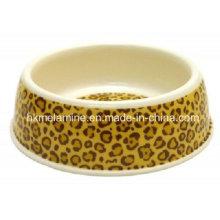 Alimentador de mascotas redondo de melamina (PB5671)