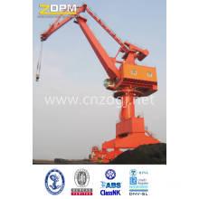 Puerto astillero móvil abatible brazo de grúa para la elevación