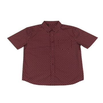 Big sale Stock Lot Men's Cotton Printed Shirt