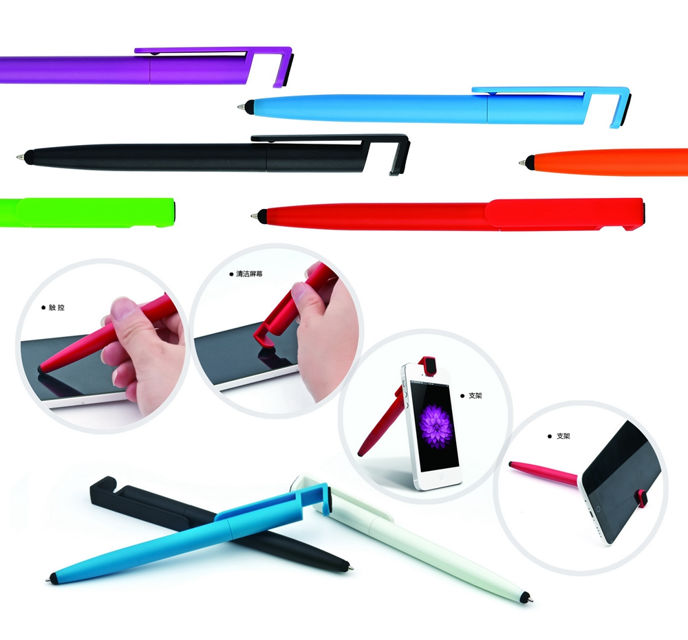 Multifunction Mobile Phone Holder Touch Screen Pen