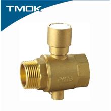 Feminino * Rosca Macho Latão Medição de Temperatura Válvula de Esfera com Preço Barato Bloqueio Dentro em TMOK Valvula
