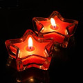 Star Shape Tealight Candle Colorful Scented Romantic Lovely Gift