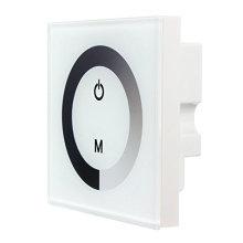 Сенсорной панели диммер настенный Выключатель чувствительный контроллер для одного цвета светодиодные полосы света