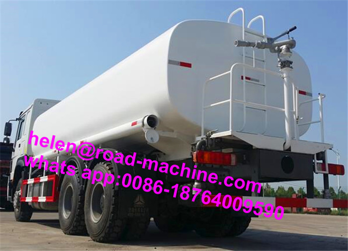 371hp 6x4 20000 Liter Air Spray Truck
