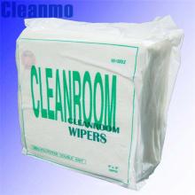 Essuie-glace en polyester pour salle blanche à bord scellé de 9 po x 9 po