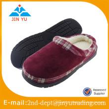 2016 microfibres confortables pantoufles d'intérieur / pantoufles d'hiver chaudes pour femmes