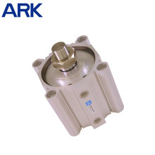 Cilindro de aire compacto ajustable de carrera doble