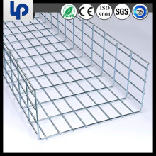 wire mesh galvanized outdoor light duty cable tray(sgs ce and rohs cable approved)