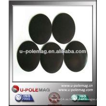 Hojas de caucho magnético redondo 38x0.5mm con adhesivo