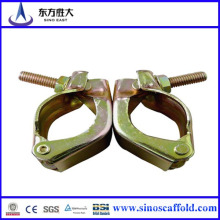 Acoplador giratorio del andamio