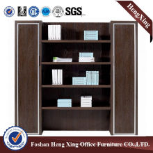 Aluminum Glass Doors Office Bookcase Modern Melamine Office Furniture (HX-5NF077)