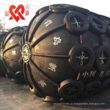 Pára-choque pneumático de borracha marinha amplamente utilizado do mundo para o navio / doca / molhe / embarcação