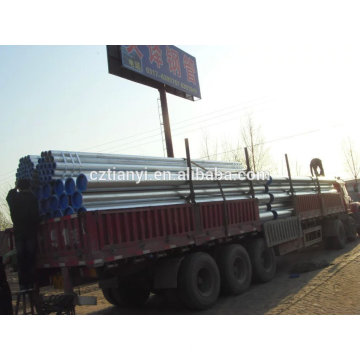 API 5L SCH40 seamless / ERW pipe for fluid pipeline