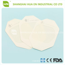 CE FDA ISO Stériles High Absorbent Transparent PU Wound Dressing Plaster