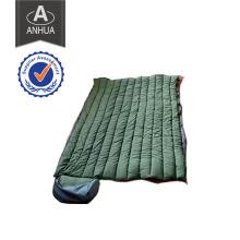 Saco de dormir impermeável verde-oliva militar