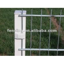 6/5/6 mm y 8/6/8 mm de recubrimiento de PVC o Gal Cerca de alambre doble (fábrica)