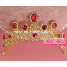 decorative kings and queen christmas wedding comb tiara