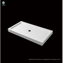 Hot sell bathroom Corner deep acrylic Shower base