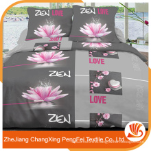 100% polyester different types of printing fabric for bed sheet