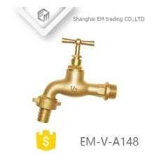 EM-V-A148 Bibcock d'arrêt en laiton avec le robinet de jardin de robinet d'eau de poignée de T