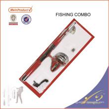 FDSF295 Mini Portable Pocket Fish Pen En Alliage D'aluminium Canne À Pêche Pôle Bobines Combos