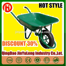 China high quality direct professional factory wheelbarrow with solid pu pneumatic wheel seal