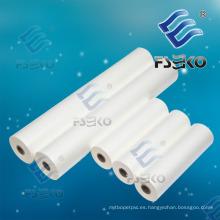 Película de rollo térmico BOPP para laminado en caliente con adhesivo de EVA (FSEKO-1509)