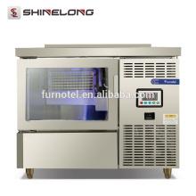 Shinelong 125KG tipo separado cubo máquina de hielo velocidad instantánea fabricante de hielo industrial