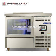 Shinelong 125KG Separate Type Cube Ice Machine Velocidade Instant Industrial Ice Maker