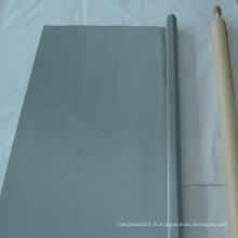 Maille de filtre de fil d'acier inoxydable de nickel de 9% / maille de plat de nickel