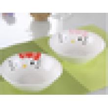 Bol de porcelaine de bol de soupe en céramique mignon