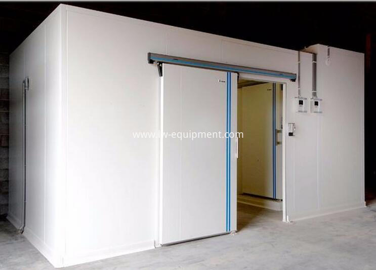 cold storage room installation project