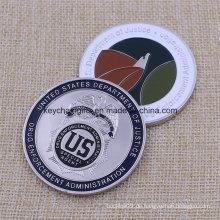 Hochwertige Custom Metal Us Military Challenge Münzen