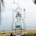 Огромные стеклянные дымящиеся водопроводные трубы с двойной рециркуляцией (ES-GB-286)
