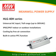 IP65 40W LED Power Supply Meanwell Driver