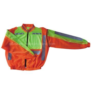 Veste / veste de sécurité à haute visibilité Reflectice avec manches longues