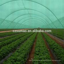Rede de sombra agrícola de fibra redonda de OEM de qualidade superior OEM