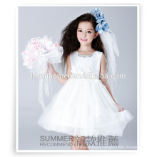 Ball gown puffy flower girls fairy fancy dress wester party wear little queen flower girl dress with cheap price