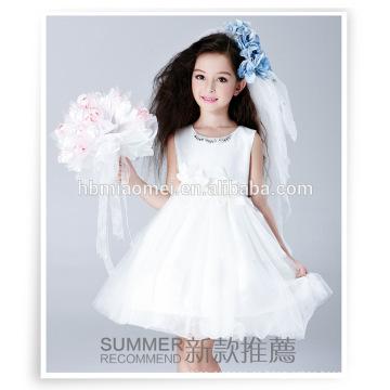 Vestido de bola puffy flower girls fairy disfraces wester party wear pequeña reina vestido de niña de las flores con precio barato