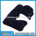 Almohada de viaje hinchable flocado personalizado