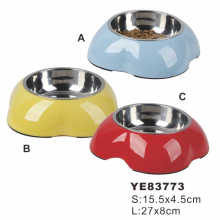 Cheap Stainless Steel Pet Bowl (YE83773)