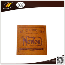 Hot Stamp Printed Leather Labels for Jeans (HJL35)