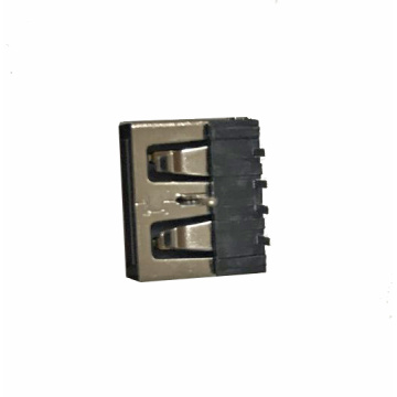 UAFR32-USB A Type Receptacle Right Angle DIP